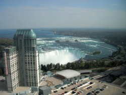 Casino and Canadian Falls