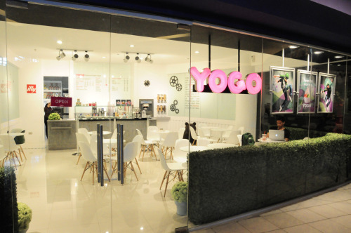 Yogo Premium Frozen Yogurt is now open at Level 4, Gaisano Mall of Davao. See you there! :-)