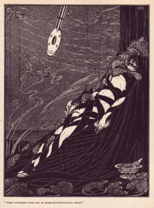 - 'The Pit and the Pendulum'by Harry Clarke (1889-1931)via A Journey Round My Skull
