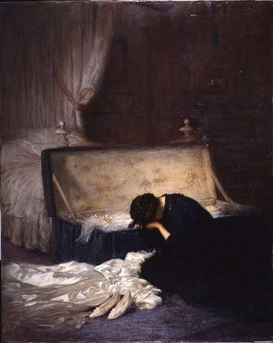 """The Wedding Dress"" by Fred Elwell"