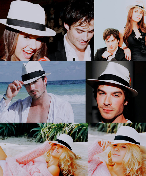 tagged as: #ian somerhalder #maggie grace #nina dobrev.