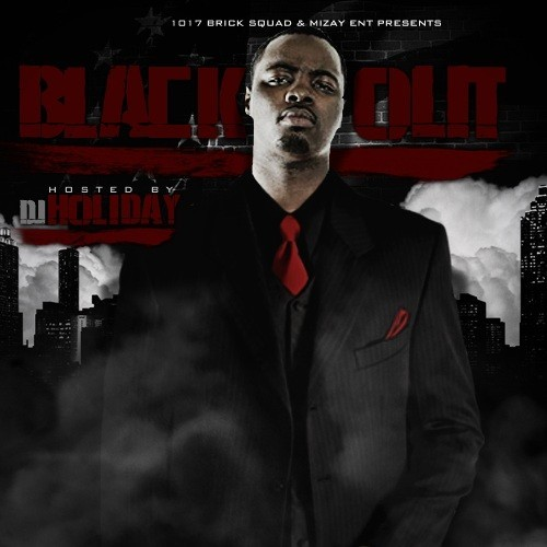 DJ Holiday & Wooh Da Kid - Black Out (1017 Brick Squad/Mizay Ent., 2010) Wooh Da Kid Wooh Da King, the Brick Squad's resident Guerilla Unit-influenced Queens transplant, delivers the follow up to his Pressure mixtape from last year. Produced almost entirely by Waka Flocka's Salute Me Or Shoot Me contributor, Southside On The Track (with some help from That Nigga Lex Luger, Tay Beatz, and even Don Cannon), Black Out maybe the coming out (ayo) party that Wooh has been waiting on for around three years now since Shirt Off dropped. Wooh's always been an above-average rapper, efficient and profound in his guest verses, always added that extra grit to Gucci's goofy euthanisms or grounding Waka's crunk into Timberland stomping territory. He's always shared many mannerisms with the Unit (which isn't surprising considering they're from the same berau; plus I'm pretty sure that Wooh, Frenchie, and Waka all have some affiliation with 50 and co.), which plant his trap-raps firmly in that New York hoodie rap territory, even when he raps over predominantly Southern production. This mixtape features the excellent Body Bags (which plenty of people have reblogged in the last 24 hours; thanks for the support, ya'll), as well as that Lex Luger track (No Romance) which was featured in the beginning of Gucci and Waka's Bite Me video. Bottom line? This is great murder music. The month of Brick Squad starts all over again; I don't even wanna imagine what they have in store for October 17th.