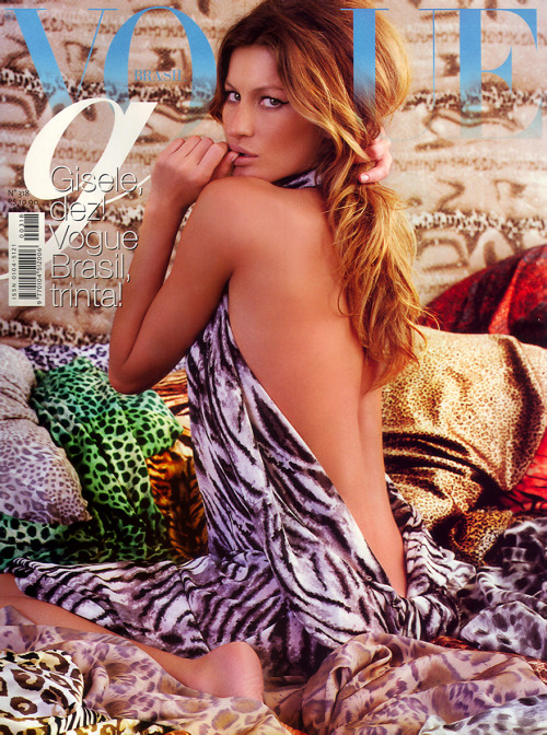 Gisele Bundchen for Vogue Brazil