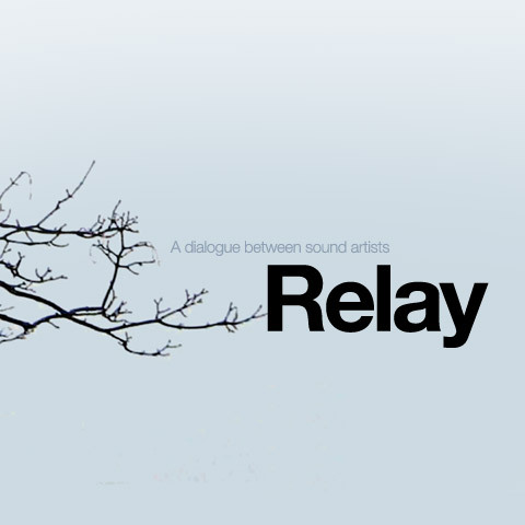 Relay is an online music project devised and curated by Irish musician John Lambert aka Chequerboard. The aim in the project is to create an unbroken chain of sound pieces where each work is created in response to the previous so that ideas and sounds shift, mutate and evolve over time. The only requirements given to each specifically chosen artist is that they create a sound piece in response to the last in the chain and write a short piece on their process, both of which are posted on the Relay website for visitors to explore.  On finishing their work, each artist is asked to gather a cluster of sounds from their piece which are passed on to the next participant, as a result some tracks feature traces of audio from the previous piece but not always, some responses are purely conceptual. Participants so far have included musicians, sound artists and multi-disciplinary artists who intermittently work with sound.