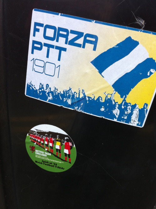 More Port Talbot Ultra stickers … and a spirit of 58 sticker too!