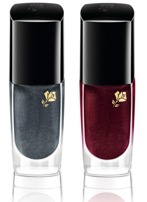 Lancome's holiday shades for Christmas 2010. Photo via. See also: All Lacquered Up article.