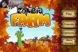 Zombie Farm game  Plant corpses, harvest zombies, invade neighboring farms for brains.  Links with Facebook.  Rating: 4.5 of 5  Free