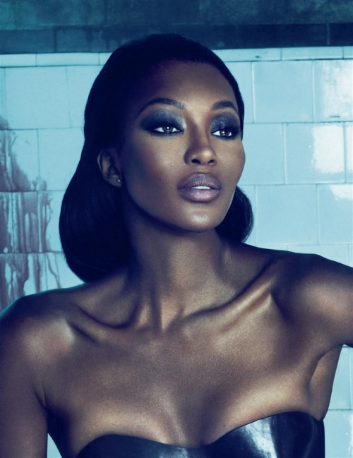 Naomi Campbell by Mert Alas and Marcus Piggott Interview October 2010