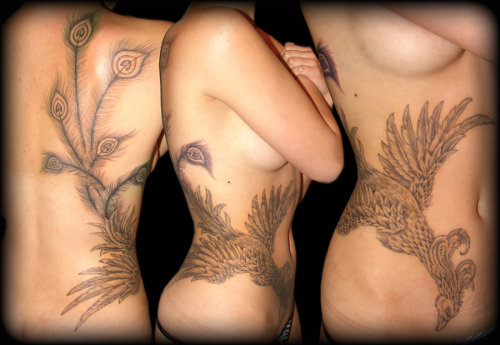Phoenix Tattoo 2 by ~asuss06