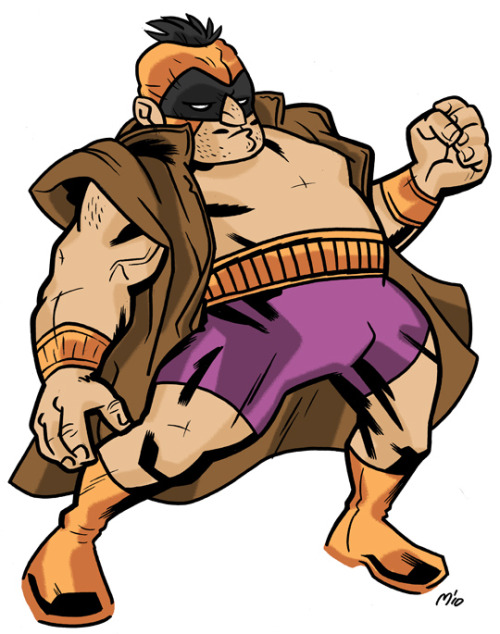 Bueno!  Batroc Excellente by Mathew Digges suggested by David Wolkin (@david_wolkin).
