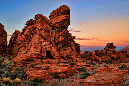 Valley of Fire Geology (by Dave Toussaint)