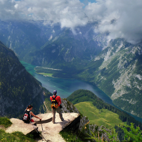 allthingseurope:  The Konigssee Lake, Bavaria, Germany - I want to be here!!!!!!!!!!! source (see it bigger- it's breathtaking)