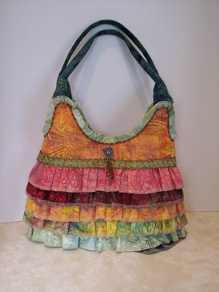 Ruffled Purse…