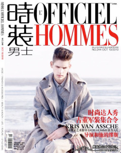 Ethan James | L'Officiel Hommes China Oct. 2010 (Photography: Milan Vukmirovic?)