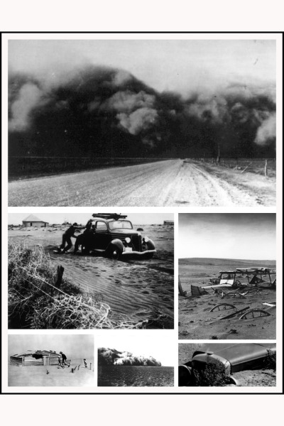 images from the dust bowl… layout design by ari balouzian