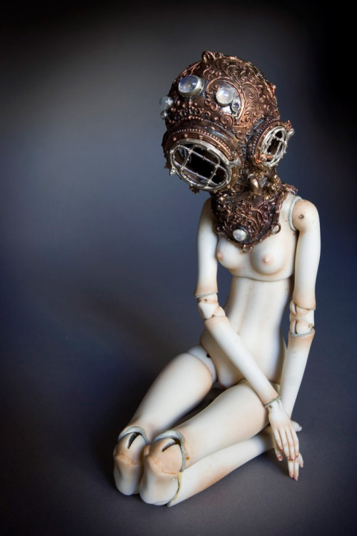 queering:  Captain Nemo's Daughter - Enchanted Doll by Marina Bychkova via Stella Polaris