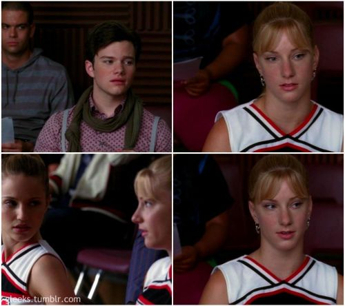 "gleeks:  Brittany: I don't wanna do Britney. Kurt: Why no Britney, Brittany?Brittany: Because my name is also Brittany Spears. Mr. Schuester: What?Mercedes: What the hell is she talking about?Brittany: My middle name is Susan, my last name is Pierce. That makes me Brittany S. Pierce, ""Brittany S. Pierce."" I've lived my whole life in Britney Spears' shadow. I will never be as talented or famous. I hope you all respect I want Glee Club to remain a place where, I, Brittany S. Pierce can escape the torment of Britney Spears."