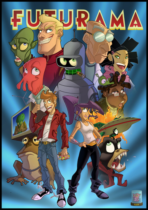Futurama by *Javas on deviantART via mikeballan