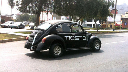 on the way … @tiesto • Old Fashion VW