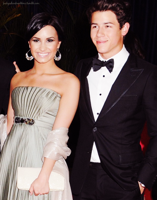 So cute together! Demi should have been Nick's date.