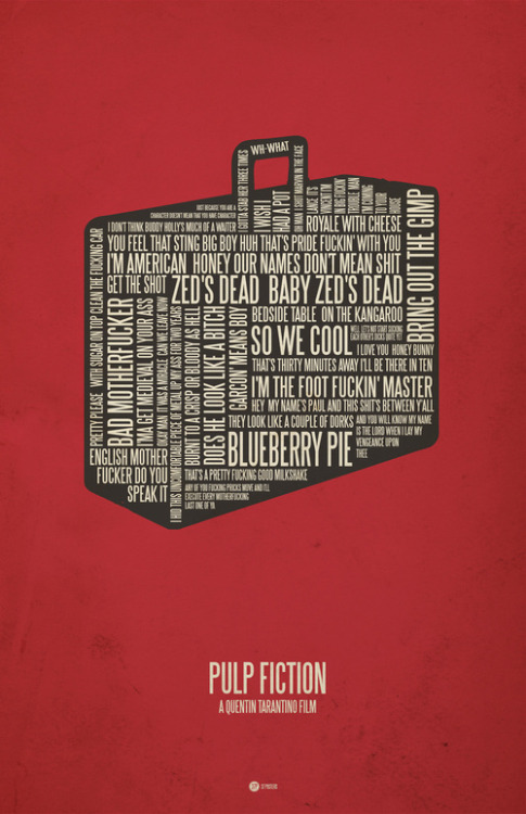 filmspired:  Pulp Fiction by Jerod Gibson