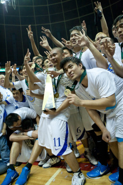 Congratulations to this season's UAAP Men's Basketball Champions - ADMU! Welcome to the three-peat club!