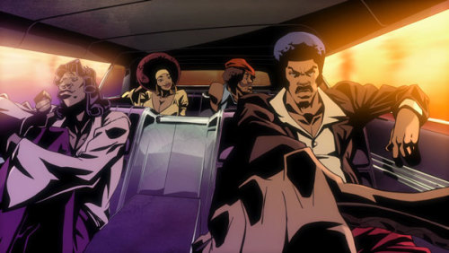 Black Dynamite animated series coming to Adult Swim Listen here, jive turkeys. Not much is known in terms of a premiere date, but according to executive producer Carl Jones (The Boondocks), an animated series based off of the blaxploitation spoof will indeed be part of the Adult Swim line-up on Cartoon Network. The show will continue to follow Black Dynamite and the gang, as they battle evil doers with knowledge of scientific transmogrification and a zest for kung-fu treachery. Actors from the film will reprise their roles as voice talents. [Warming Glow]