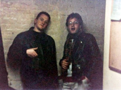 thecarlosramos:  Louis CK and Marc Maron back in their chick magnet days..