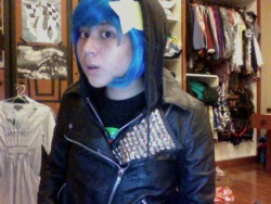 Book 6 :D Real blue hair soon……………………..