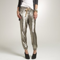 jcrew's $650 sequin harem pants :-O