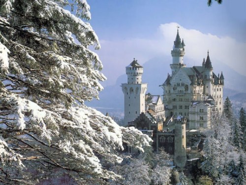 landscapelifescape:  Neuschwanstein Castle, Germany via www.coolershaker.com
