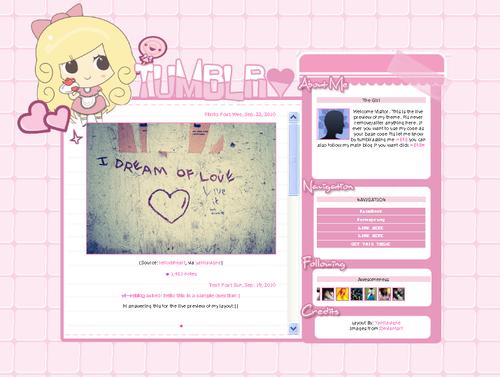 OhMyLayouts   Tumblr Themes   Tumblr Layouts