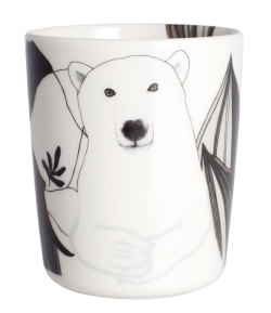 Nanuk mug by Teresa Moorhouse for Marimekko.