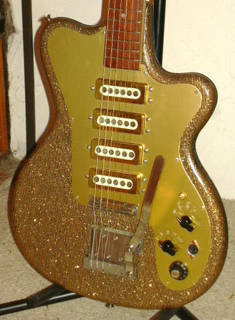 Glitter, sparkle and shine! Fasan 4 Pickups Gold (60s)