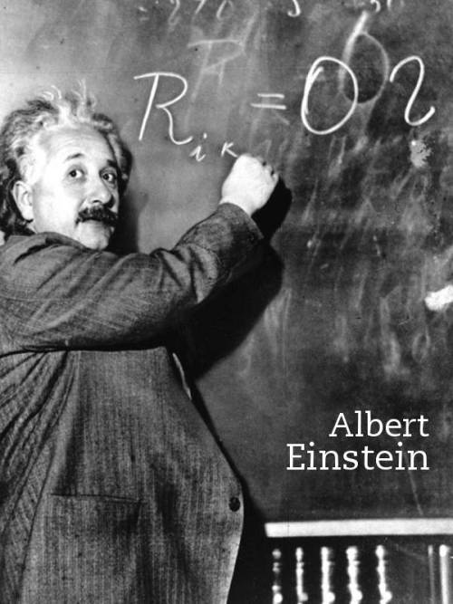 Albert Einstein Thanks to Cutlerish.