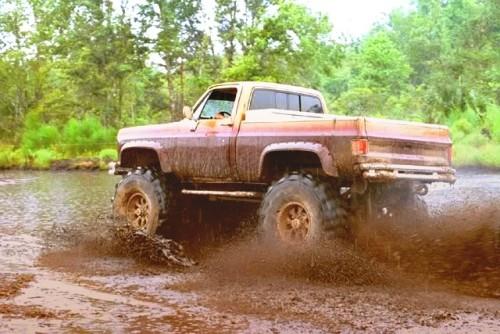 Jacked Up Mud Trucks