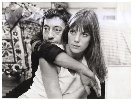 Serge Gainsbourg and Jane Birkin. So awesome. fuckrich:
