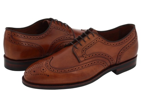 It's On Sale Allen-Edmonds Lombard Wingtips in Walnut One of 27 different models on sale at this price from Zappos.  AEs are also on sale on Endless.com and on AllenEdmonds.com. $229 from $325 at Zappos.com
