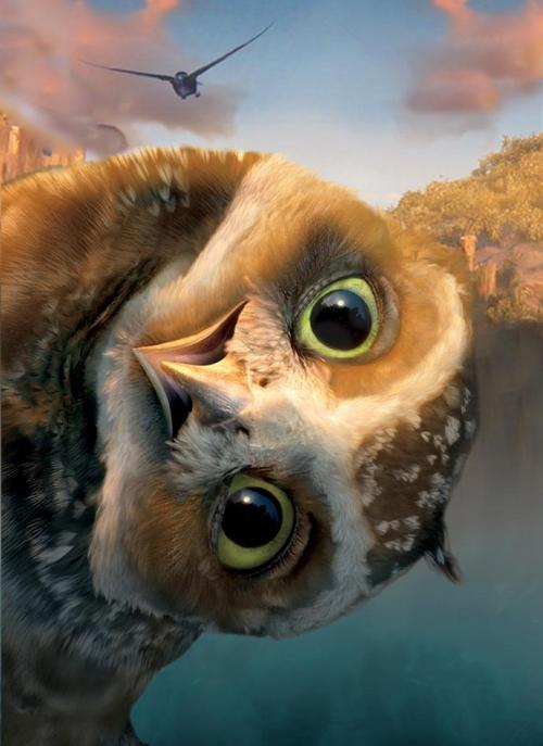 'Legend of the Guardians The Owls of Ga'Hoole'. want to watch this.