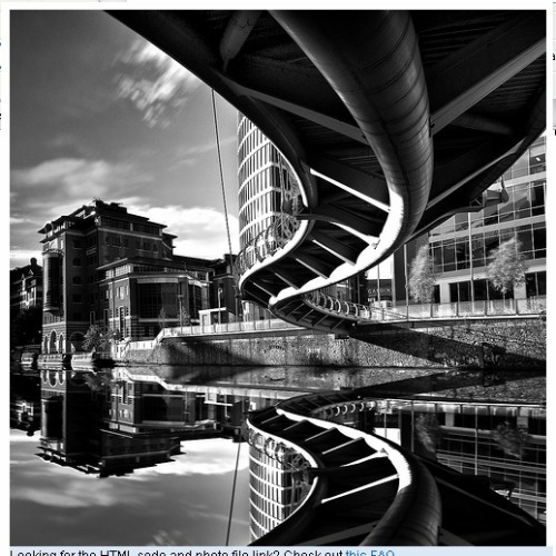 Valentine Bridge. made me see architecture in a new way; COMPLICATED