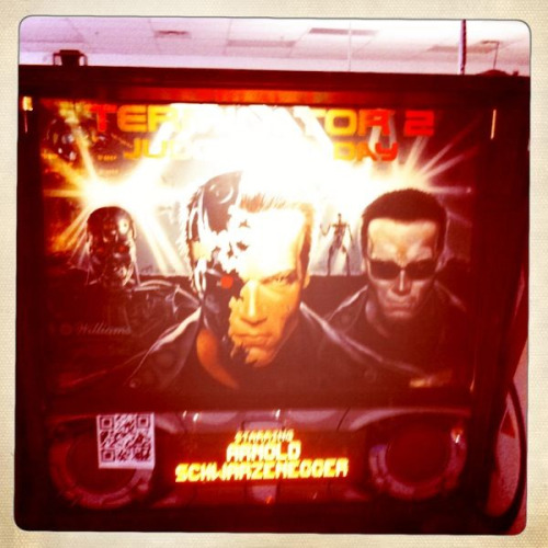 <p>My fav pinball game: T2</p>