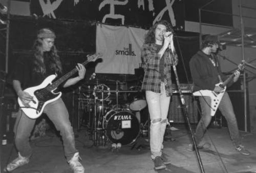 The Smalls, Edmonton, 1992.