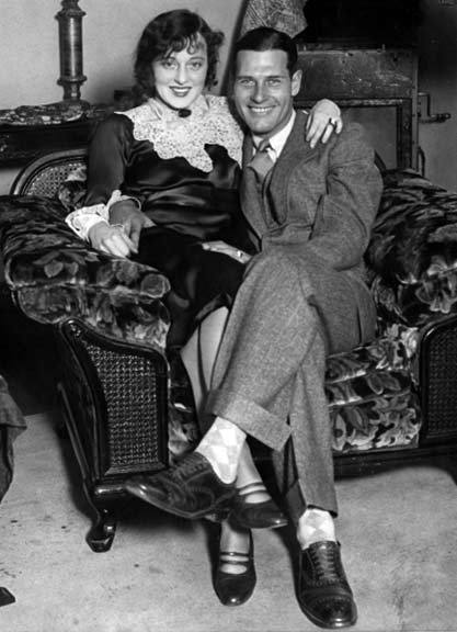 Jobyna Ralston and husband Richard Arlen, newlyweds C. 1928