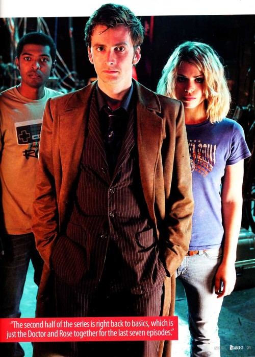 The Doctor and Rose …. and Mickey