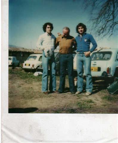 laviebelem:  Polaroid photo of my dad (left), his dad and his brother circa late 1970s in Chile. I'm slightly obsessed with this photo.   Re-posting this photo because it's Father's Day and I love all three of these wonderful men.