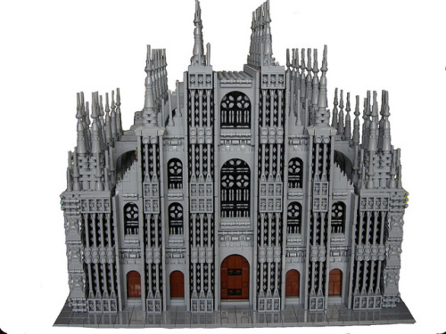 Milan Cathedral  Beautiful.  via legos: iamktn