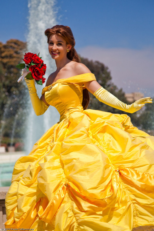 Disney Week (Day 6):  Belle from Disney's Beauty and the Beast