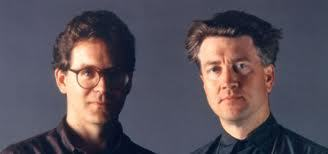 Mark Frost and David Lynch, the creators of Twin Peaks.