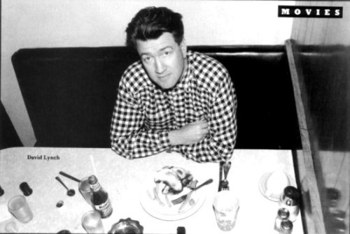 David Lynch orders tuna on whole wheat toast with lettuce and mayo, and a Diet Coke with lemon.