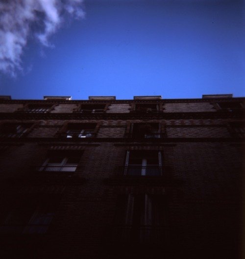 Building at Porte de La Chapelle, Paris | Shot with a Holga